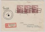 Sudetenlandbesetzung; DR 681 (3x) in MeF, auf E.- Brief mit Propagandastempeln aus Böhmischdorf, nach Unterreichenbach