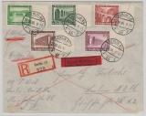 634- 42 in MiF auf Satz- Eilboten- Einschreiben- Ortsbrief, innerhalb Berlins