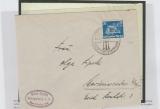 579 als EF auf Fernbrief von Königsberg (der OSTROPA) nach Marienwerder, Befund Schlegel BPP