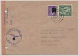 KZ- Post, Brief vom KZ- Groß- Rosen nach Chemnitz, mit Zensur