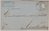Nr. 26 als Ef auf Auslandsbrief von Mannheim nach Amsterdam