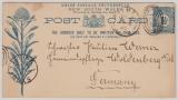 Australien, 1895, New Soth Wales, GS nach Woldenberg