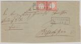3 (2x), in MeF auf Brief von Seckenburg nach Bischofsheim