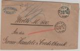 Nr.: 44 als EF auf Wertbrief von Berlin nach Gera (?)