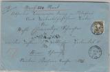 Nr.: 44 als EF auf Wertbrief von Krautheim nach Öftering (?)