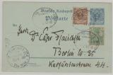 2Pfg.- GS (Krone- Adler) mit Nrn.: 45+ 55 als Zusatzfrankatur von Bremen nach Berlin