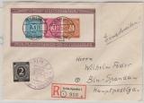 Bl. 12B u.a., als Einschreiben- Ortsbrief innerhalb Berlin- Spandau´s, Befund Schlegel BPP