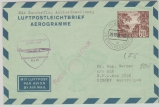 60 Pfg. Aerogramme, LF6, hin unf zurück gelaufen, von Berlin nach Sidney