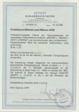 67 Y in MiF auf Fernbrief in Satzfrankatur, von Greppin nach Limbach, Fotoattest Dr. Jasch Echt und Einwandfrei