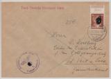 24 Pfg. AH, auf Dienstbrief, per Deutsche Dienstpost Adria, von Laibach nach St. Veith