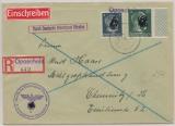 Durch Deutsche Dienstpost Ukraine Einschreiben von Oposchnia nach Chemnitz