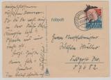 Churchill- Spott- Feldpostkarte, gelaufen, Heimat- Front