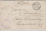 Feldpost 1916, Flieger, Staffel 38 Kampfgeschwader 7.0 .. L, Brief von der Front nach Berlin
