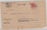 Heeressache, 1.7.1919, Brief des Magistrats von Spandau, innerhalb Spandaus, Pio. Btl. ...