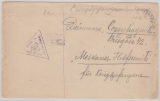 Kriegsgefangenenpost, 1916, Brief aus dem Oflag.-  Hann. Münden, an das Rote Kreuz nach Kopenhagen, + Zensur