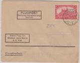 Nr.: 94 II, als EF auf Lupo- Einschreiben (von der Nationalversammlung Weimar) nach Berlin, rs. mit Ankunftsstempel