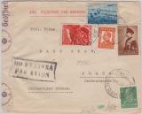 Bulgarien, 1940, Expres- Flugpost- Auslandsbrief von Sofia nach Prag, mit Dt. Zensur