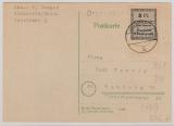 Ründeroth, Nr.: 1 bB vom UR, auf Drucksachen- Fernpostkarte von Ründeroth nach Hamburg, doppelt geprüft Zierer BPP