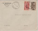 Libanon, 1935, Brief mit MiF nach Berlin