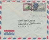 Jordanien, 1963, Auslandsbrief von Jerusalem (!) nach Berlin, mit netter MiF