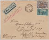 Franz. Post in Marocco, 1932, nette MiF auf Auslands- Lupo- Brief von Casablanca nach Wuppertal Barmen (D.)