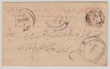 Indien, Feudalstaaten, 1870- 1900, 4 Anna (?) GS, verwendet von ... nach... (?)