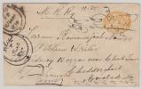 Indien, Feudalstaaten, ca. 1870- 1900,  1/2 Anna GS, verwendet von ... nach Hydrabad (?)