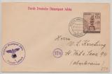 Durch Deutsche Dienstpost Adria, 1944, DR Nr.: 886, als EF von Leibach nach St. Veit an der Save