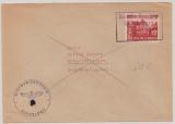 Durch Deutsche Dienstpost Luxemburg, 1941, DR Nr.: 741 als EF auf Fernbrief von Luxemburg nach Gera, sehr selten!