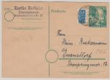 BRD 10 Pfg. Bundestags- GS, gelaufen als Postkarte von Herzogenrath nach Düsseldorf