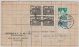 Berlin Mi. Nr.: 42 (4x) + Bizone Nr.: 83 als MiF auf Fernbrief von Braunschweig nach Dassel! Kurios und selten!