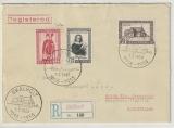 Island, 1956, 1,75 Kr.  u.a. als MiF auf Auslands- Einschreiben von Skalholt nach Ankum (D)!