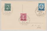 FRZ / Rheinland- Pfalz, Goethesatz auf Postkarte, mit Sonderstempel, Karte nicht gelaufen