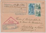 FRZ / Baden, nette MiF auf Nachnahme- Einschreiben von Freiburg nach Limburg