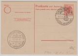 Kontrollrat / West, 30 Pfg. Auslands- Antwort- GS (P946) gefälligkeits-gestempelt, nicht gelaufen