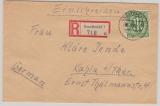 AM- Post, Mi.Nr. 31 als EF auf Einschreiben von Geesthacht nach Kahla