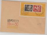 DDR, Bl. 7 auf Umschlag, nicht gelaufen, mit Debria- Stempel
