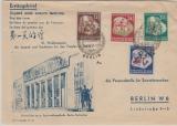 DDR, 289- 92, kpl. Satz auf FDC, gelaufen innerhalb Berlin´s