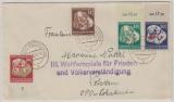 DDR, 289- 92, kpl. Satz auf Fernbrief von Königs- Wusterhausen nach Potsdam, mit seltenem Propagandastempel!