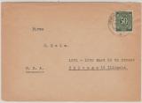 Berlin / Vorläufer / Kontrollrat, Mi.- Nr.: 932 als EF auf Auslandsbrief in die USA