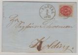 Dänemark, 1872, 4 Sk. Ef nach Kolding