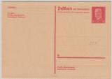 15 Pfg. rot, kpl. Antwort- GS, (Mi.- Nr.: 184 II), gezähnt, ungebraucht
