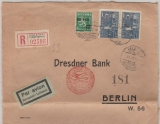 Finnland, 1933, E.- Lupo- Brief von Helsinki nach Berlin