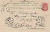 Russland, 1899, 4 Kopecken als EF auf schöner Auslandspostkarte von Jalta nach Naumburg