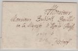 Preussen, 1749, Brief an den Baillif de la Majeste le Roy de Prusse nach Distorff