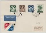 DR, /Karlsbad/ 4.10.1938, Mi.- Nr.: 662 + Tschechische + Österreichische Marken mit Stempel Karsbad auf Brief Nach Hamburg