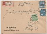 Berlin, 1949, Mi.- Nr.: 26 (2x) + 49 als MiF auf Orts- Einschreiben innerhalb Berlin´s