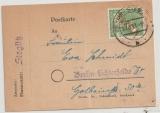 Berlin, 1949, Mi.- Nr.: 24 als EF auf Mini- Orts- Postkarte innerhalb Berlin´s! Nette Sache! (Finanzamtspost!)