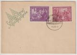DDR, 1950, Mi.- Nr.: 248- 249, auf FDC, nicht gelaufen