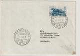 Saarland, 1949, Mi.- Nr.: 266 als FDC / EF auf Auslandsbrief von Gudingen nach London (GB)